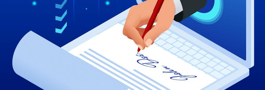 Signature électronique Word